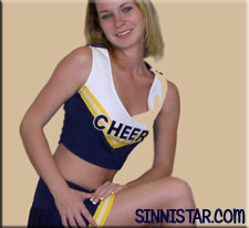 Brooke sinnistar cheerleader ass to pussy